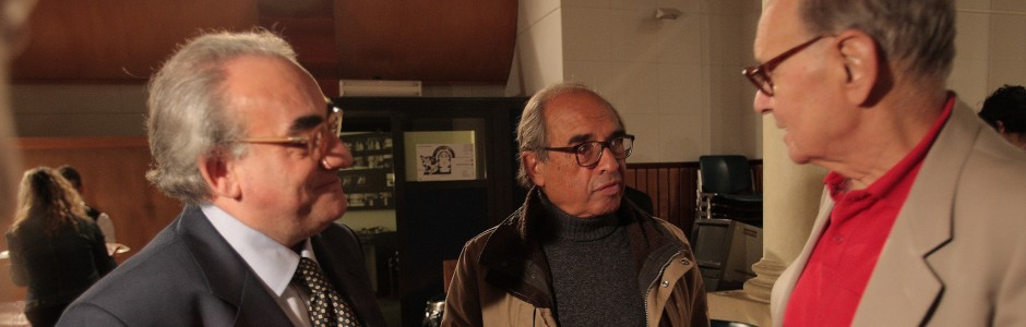 Enno Morricone con Lilli Greco e Pietro Paluello