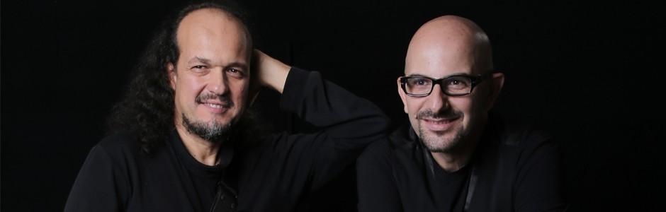 Enzo Amazio e Pino Tafuto
